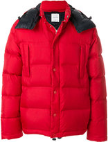 Wood Wood hooded puffer coat