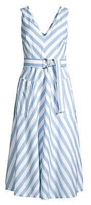 Kate Spade Women's Deck Stripe Midi Dress