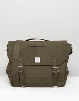 Jack Wills Nylon Satchel Bag In Green