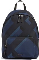 Burberry 'Abbeydale' Check Nylon Backpack
