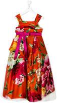 Dolce & Gabbana floral print party dress