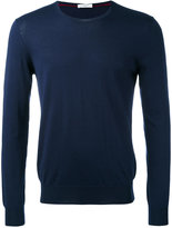 Paolo Pecora crew neck jumper - men - Silk/Cotton - S