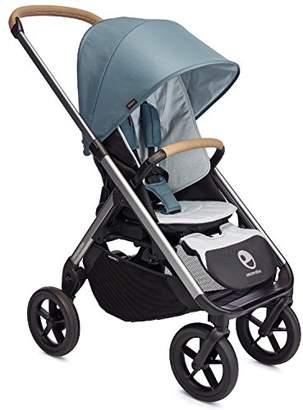 EasyWalker Easy Walker Mosey Plus Single Pushchair, Steel Blue