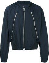 Issey Miyake zip detail bomber jacket