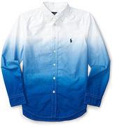 Ralph Lauren Dip-Dyed Cotton Oxford Shirt