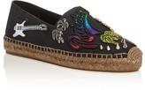 Marc Jacobs Sienna Appliqué Embellished Espadrille Flats