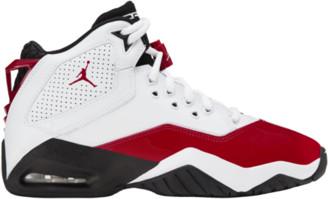 Jordan B'Loyal Basketball Shoes - White / Gym Red / Black