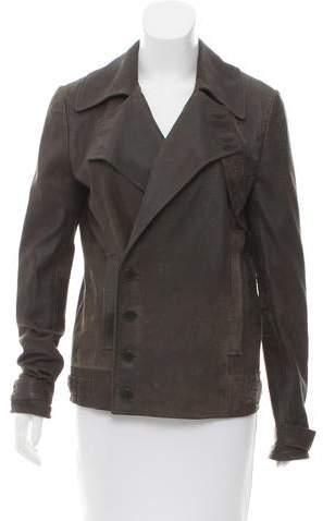 Alexander Wang Distressed Suede Jacket