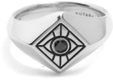 Vision Signet Ring In Sterling Silver