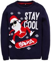 Very Xmas Skateboard Santa