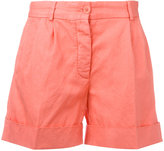 Aspesi folded hem shorts - women - Cotton - 40