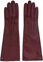 Reiss Starling Dents Long Leather Gloves