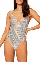 L-Space L Space Back to the Future One-Piece Swimsuit