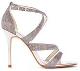 Karen Millen Glitter Fabric Sandal