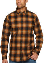 Walls YL860 Men's Mid Weight Stretch Brushed Flannel Button Front Shirt
