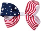 Crazy 8 American Flag Bow Barrette