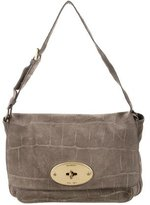 Mulberry Suede Bayswater Flap Bag