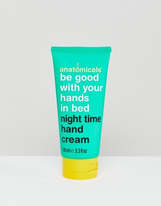 Anatomicals Be Good With Your Hands In Bed - Night Time Hand Cream 100ml-No Colour