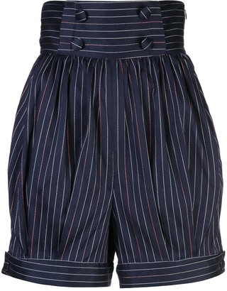 Rosie Assoulin Striped Shorts
