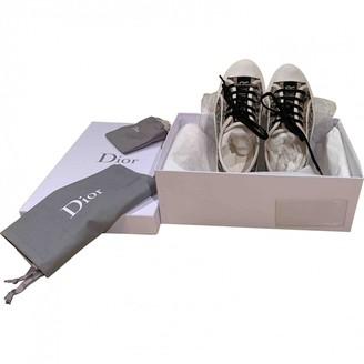 Christian Dior Walk 'n' Beige Cloth Trainers