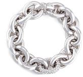 Eddie Borgo Crystal pavé link chain bracelet