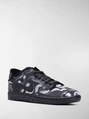 Comme des Garcons x Nike Dunk Monogram low-top sneakers
