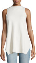 The Row Elpas Sleeveless Jewel-Neck Top, Old Lace