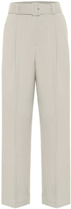 Frankie Shop Elvira high-rise crepe pants