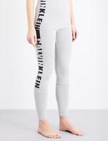 Calvin Klein Seamless logo-print jersey pyjama leggings