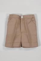 Malvi & Co. Camel Linen Shorts