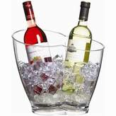 Bar Craft Barcraft Clear Acrylic Double Sided Drinks Pail / Cooler