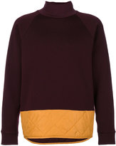 Marni quilted detail sweatshirt
