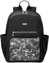 Baggallini Black Scatter Cargo Backpack