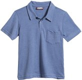 City Threads Super-Soft Jersey Polo (Baby) - Smurf-12-18 Months