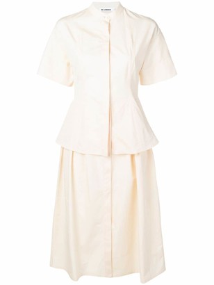 Jil Sander Shirt Midi Dress