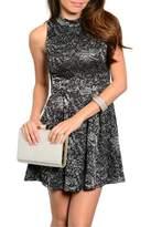 Adore Clothes & More Black Silver Dress