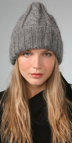 Charlotte Spider Knit Slouchy Cap