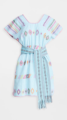 Pippa Mini Caftan with Belt