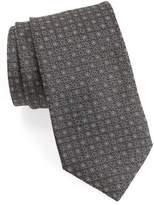 John Varvatos Geometric Silk Tie