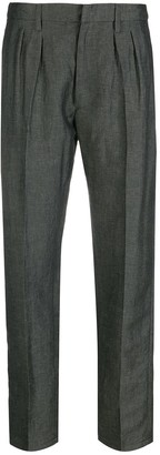 Dondup Stevie pleated-front trousers
