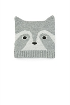 Country Road Raccoon Knit Beanie