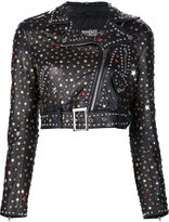 Jeremy Scott studded biker jacket