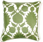 Flock Silk Twill Pillow - 18 X 18