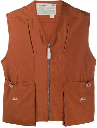 A-Cold-Wall* Two Pocket Zipped Vest