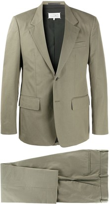 Maison Margiela Single-Breasted Two-Piece Suit
