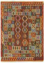 Arshs' Fine Rugs Kilim Arya Kelley Flatweave Hand-Woven Wool Southwestern Rug