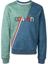 Carven retro skate logo sweatshirt