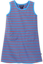 Toobydoo Ventimiglia Striped Tank Dress (Toddler Girls)