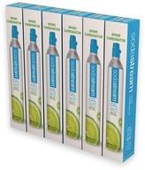 Williams-Sonoma Williams Sonoma SodaStream Spare CO2 Cylinders, 6-Pack