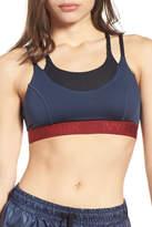 Ivy Park R) Colorblock Double Layer Sports Bra